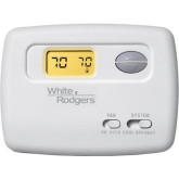 Thermostat 1H/1C Wh Digitial 24V Horizontal